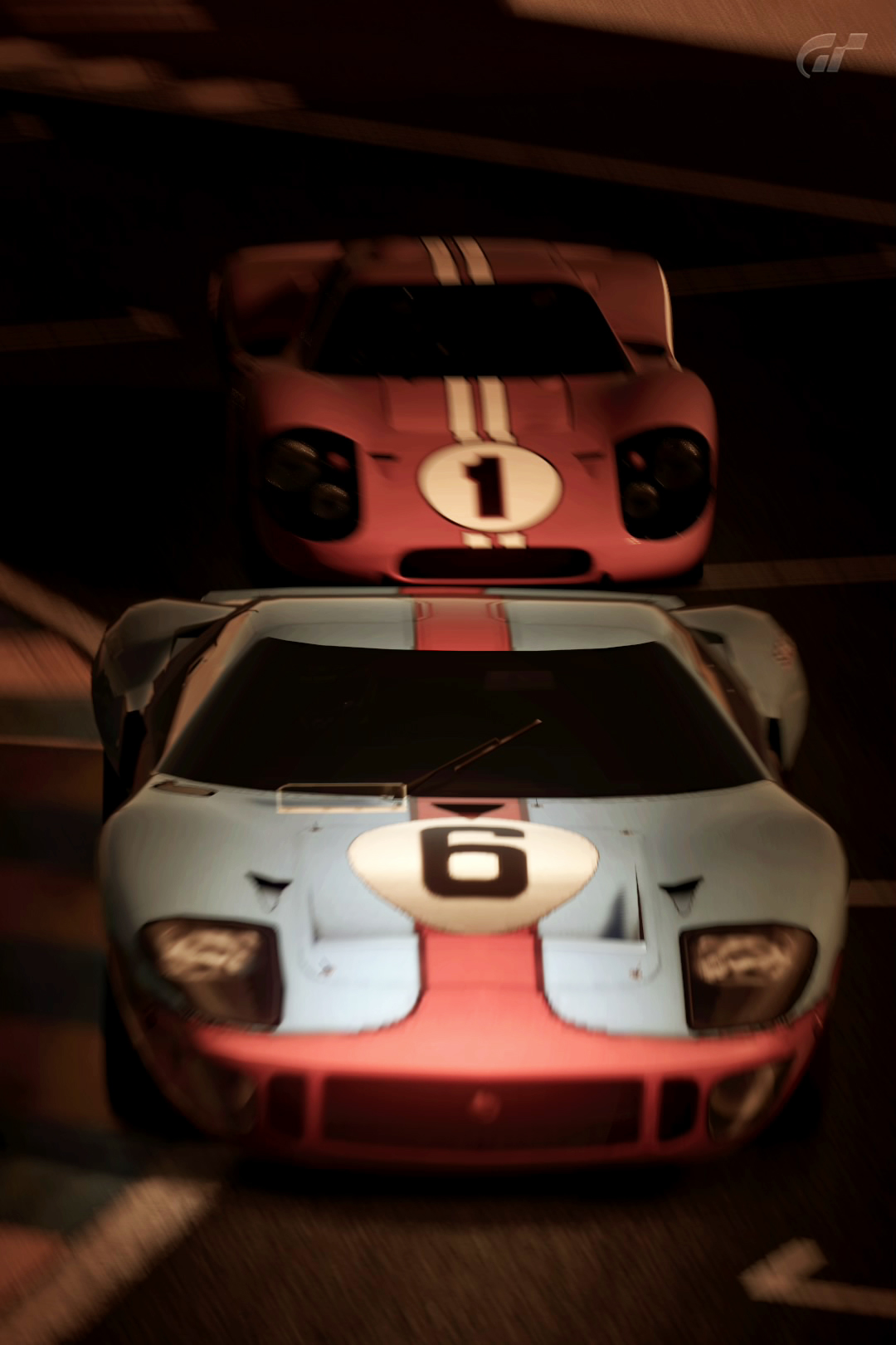 1966 ford gt40 race car gulf oil gran turismo 5 by vertualissimo