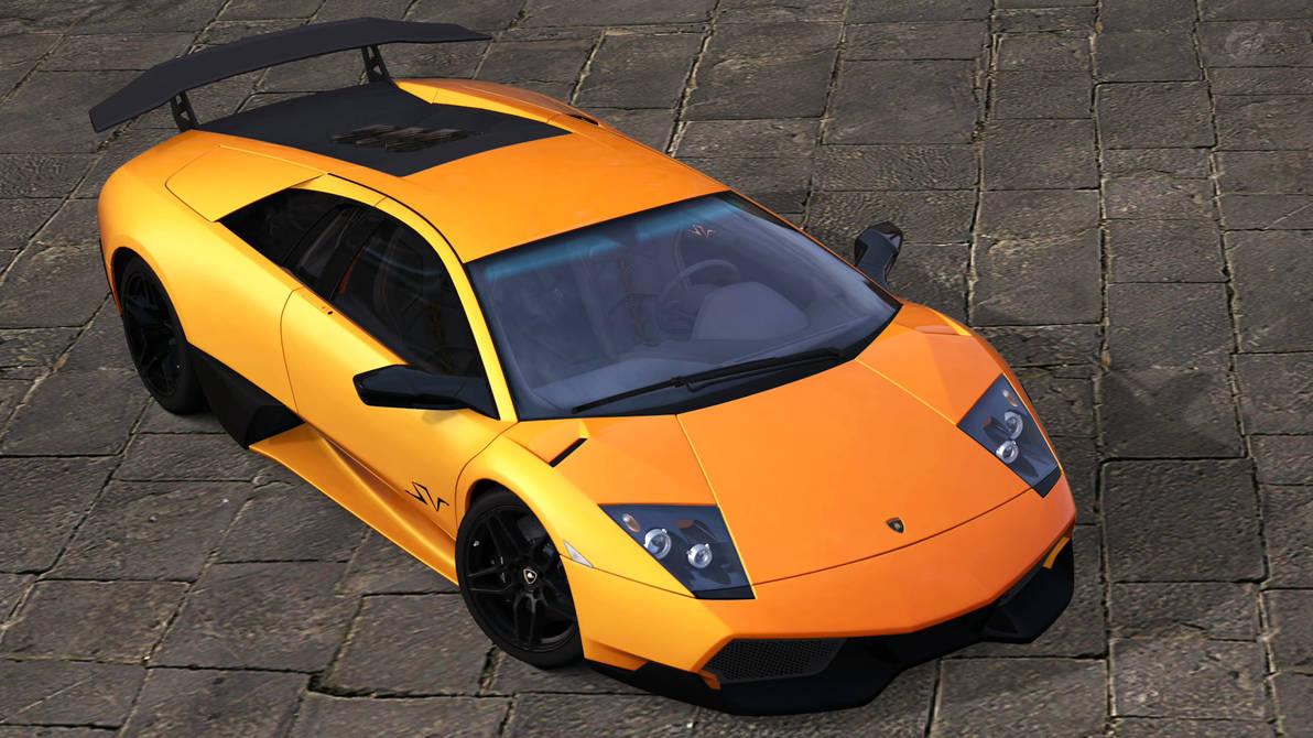 2009 Lamborghini Murcielago Lp670 4 Sv Gt5 By Vertualissimo On