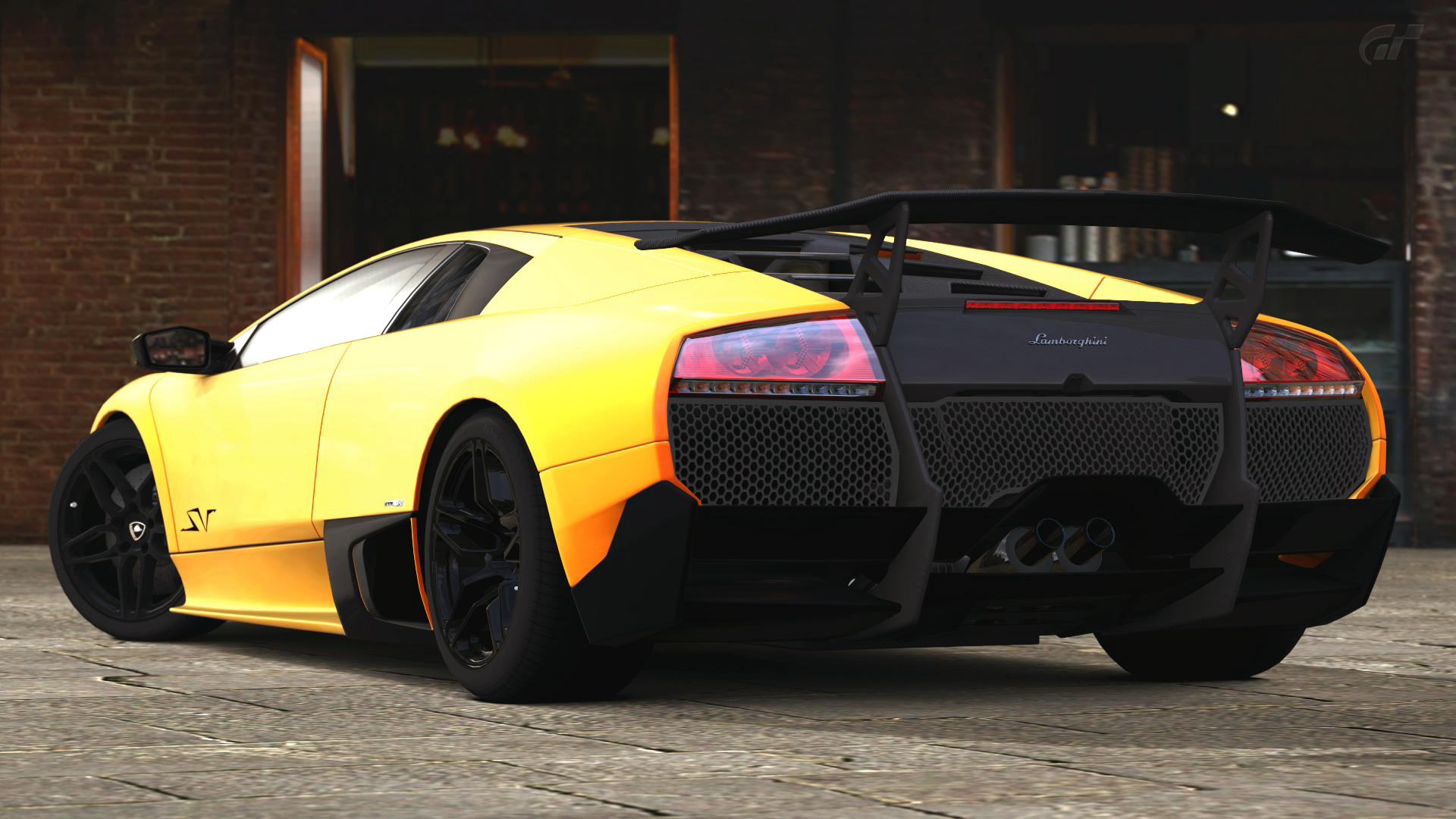 Lamborghini Murcielago LP SV hone wallpapers for