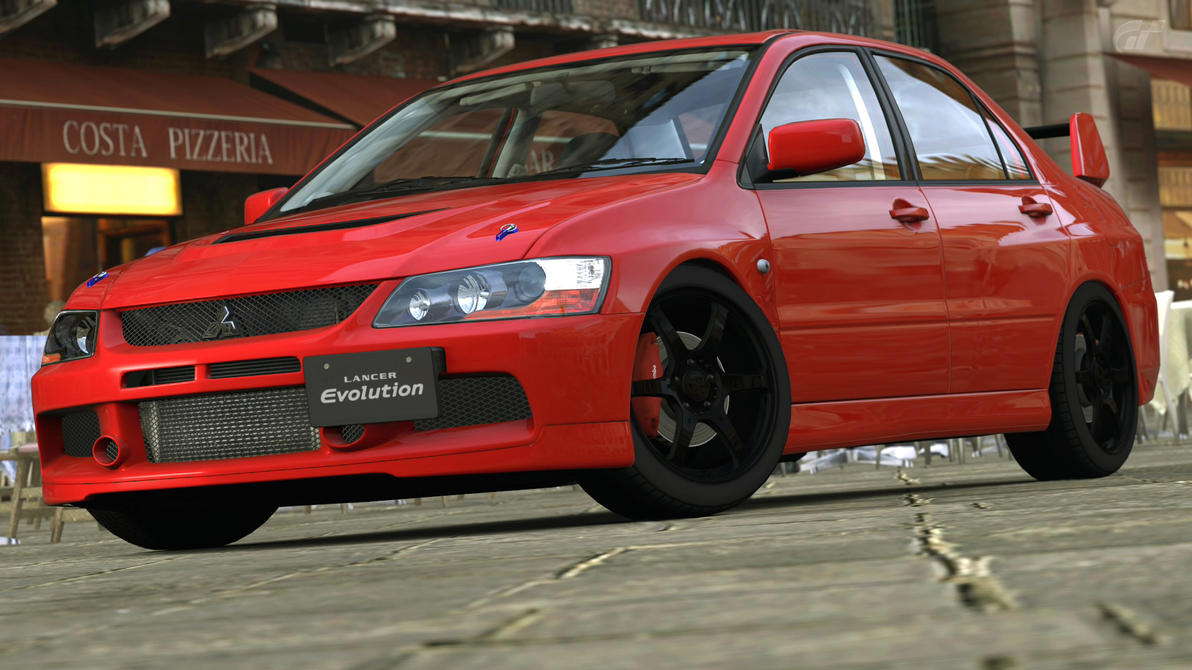 sale mitsubishi features gallery evolution o front simulation mode for lancer viii mr photo impp