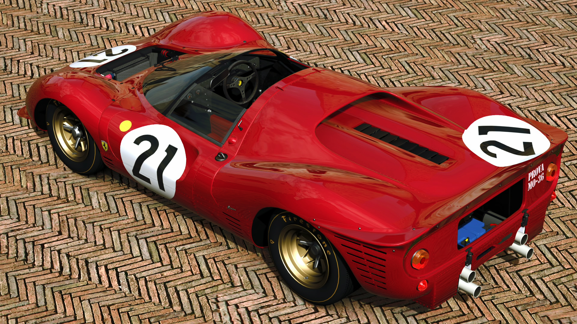 1967 ferrari 330 p4 gran turismo 5 by vertualissimo on. Black Bedroom Furniture Sets. Home Design Ideas