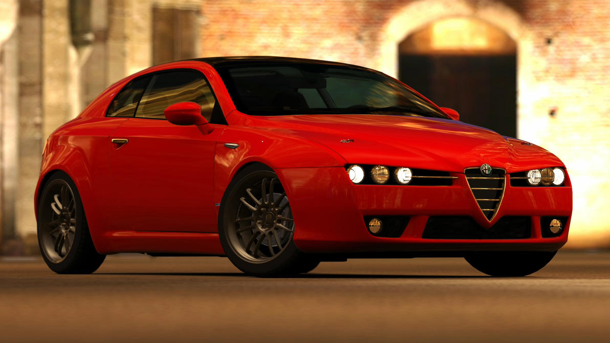 2006 alfa romeo brera 3 2 jts q4 gt5 by vertualissimo on deviantart. Black Bedroom Furniture Sets. Home Design Ideas