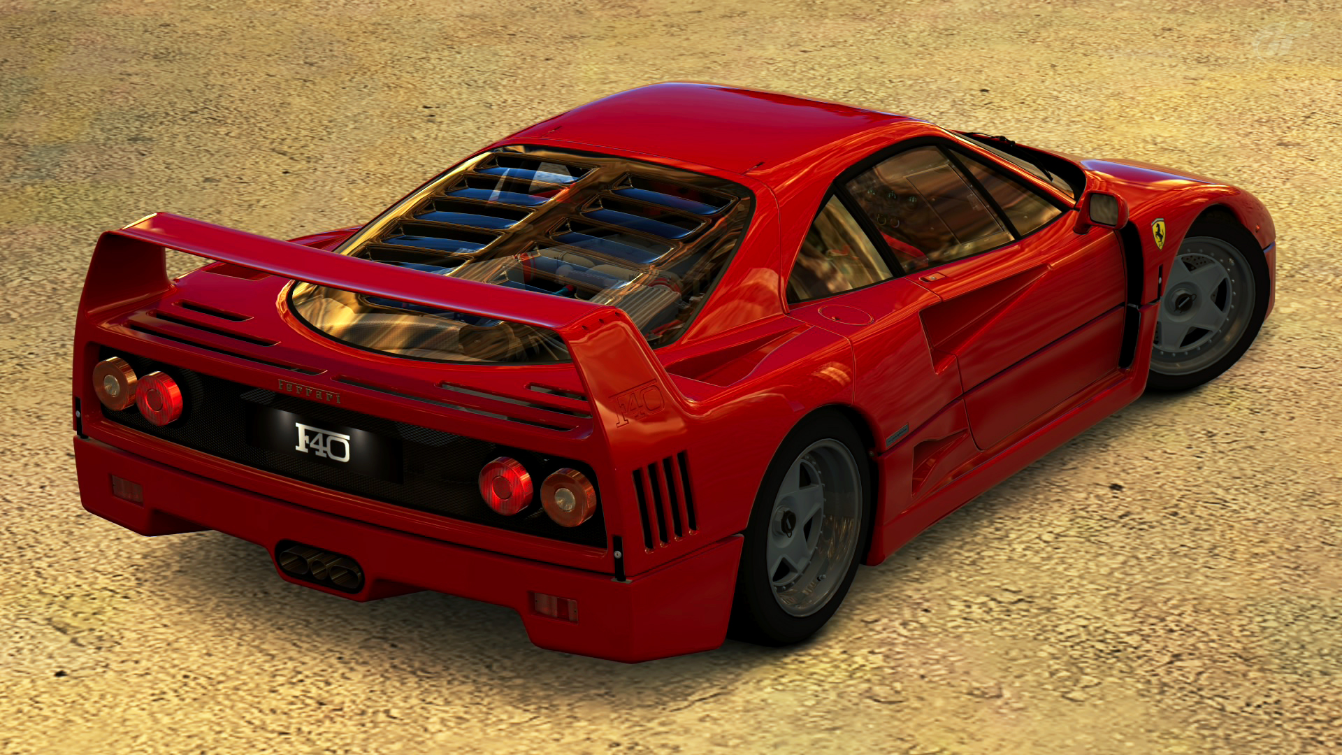 1992 Ferrari F40 Gran Turismo 5 By Vertualissimo On