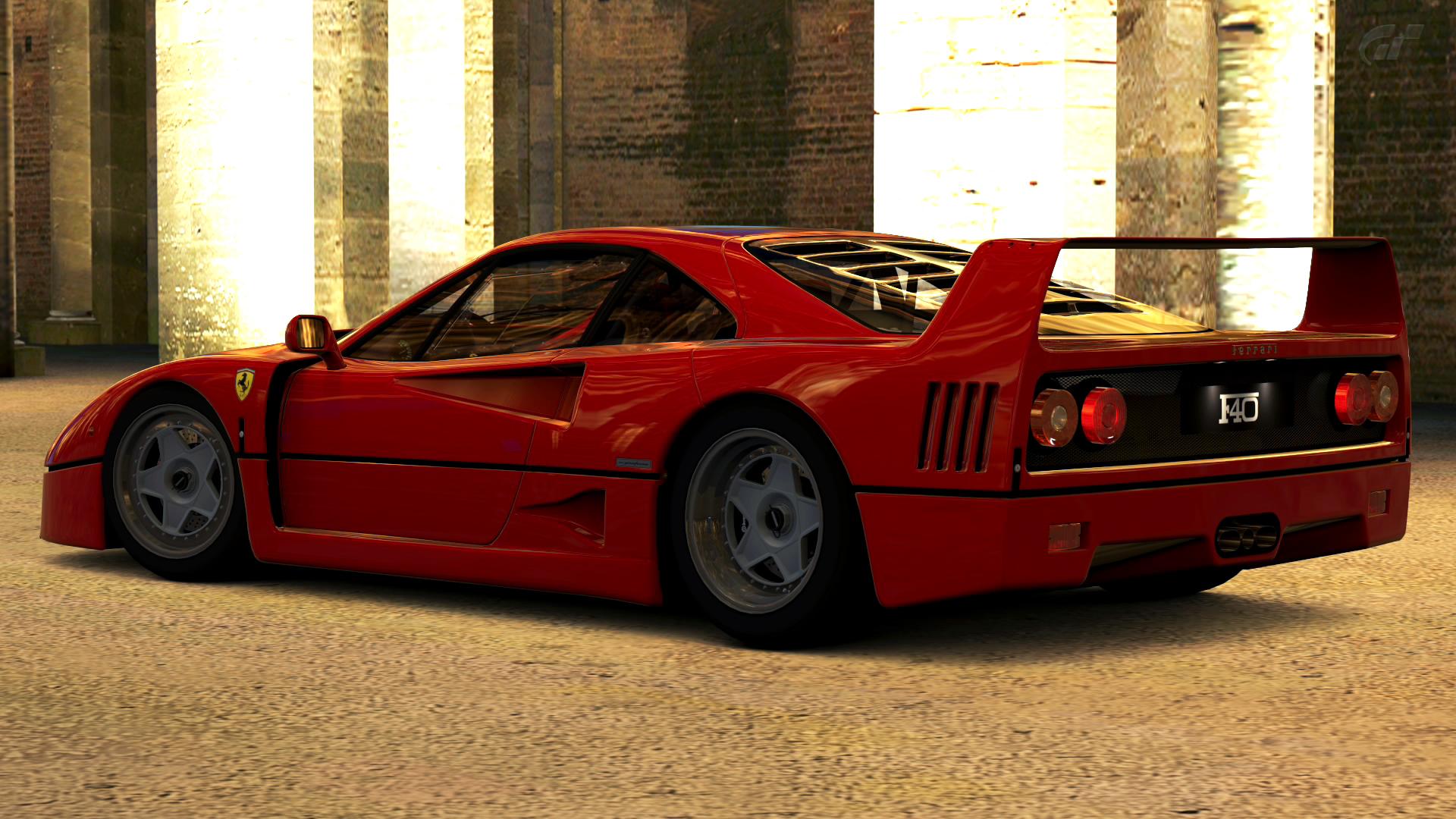 1992 Ferrari F40 Gran Turismo 5 By Vertualissimo On