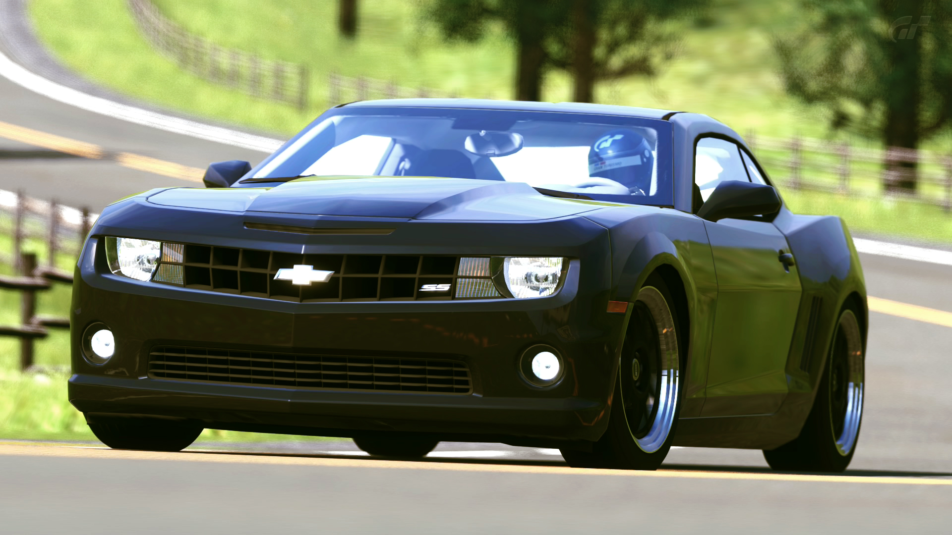 2010 chevrolet camaro ss gran turismo 5 by vertualissimo on deviantart. Black Bedroom Furniture Sets. Home Design Ideas