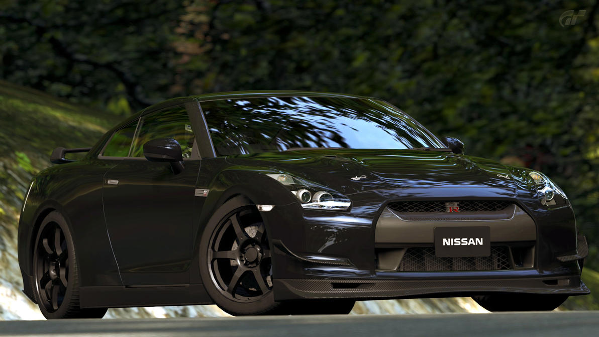 2009 Nissan GT-R Spec V (Gran Turismo 5) by Vertualissimo