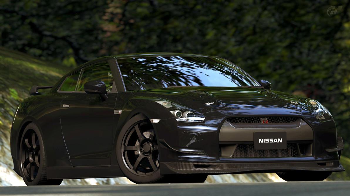 2009 Nissan GT-R Spec V (Gran Turismo 5) by Vertualissimo