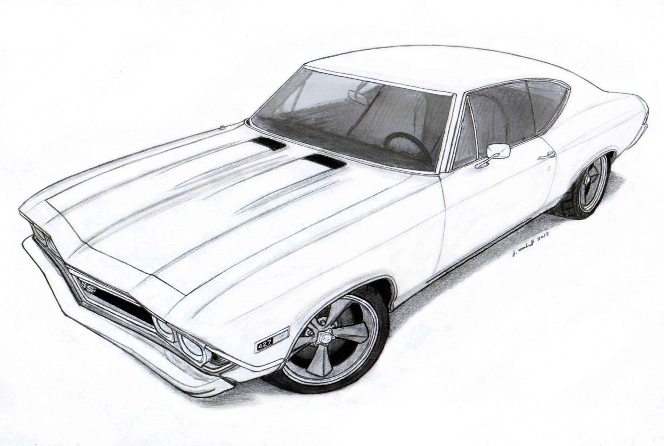 1969 Chevrolet Impala SS 427425 HP L72 2Door Sport Coupe