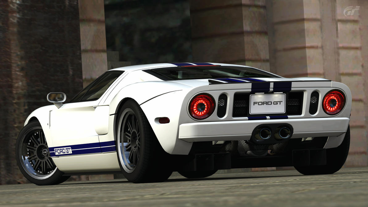 Ford Gt Gran Turismo  By Vertualissimo