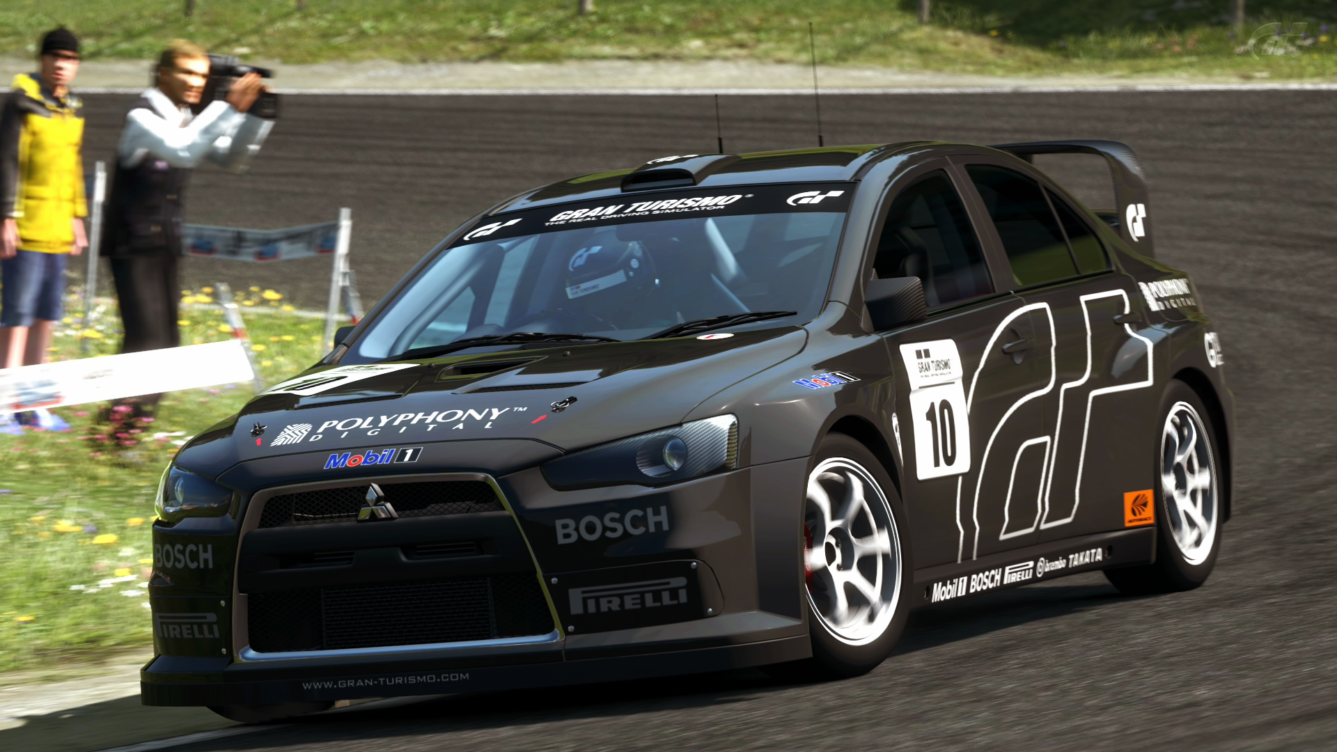 2007 mitsubishi lancer evolution x tc gt5 by vertualissimo on deviantart. Black Bedroom Furniture Sets. Home Design Ideas