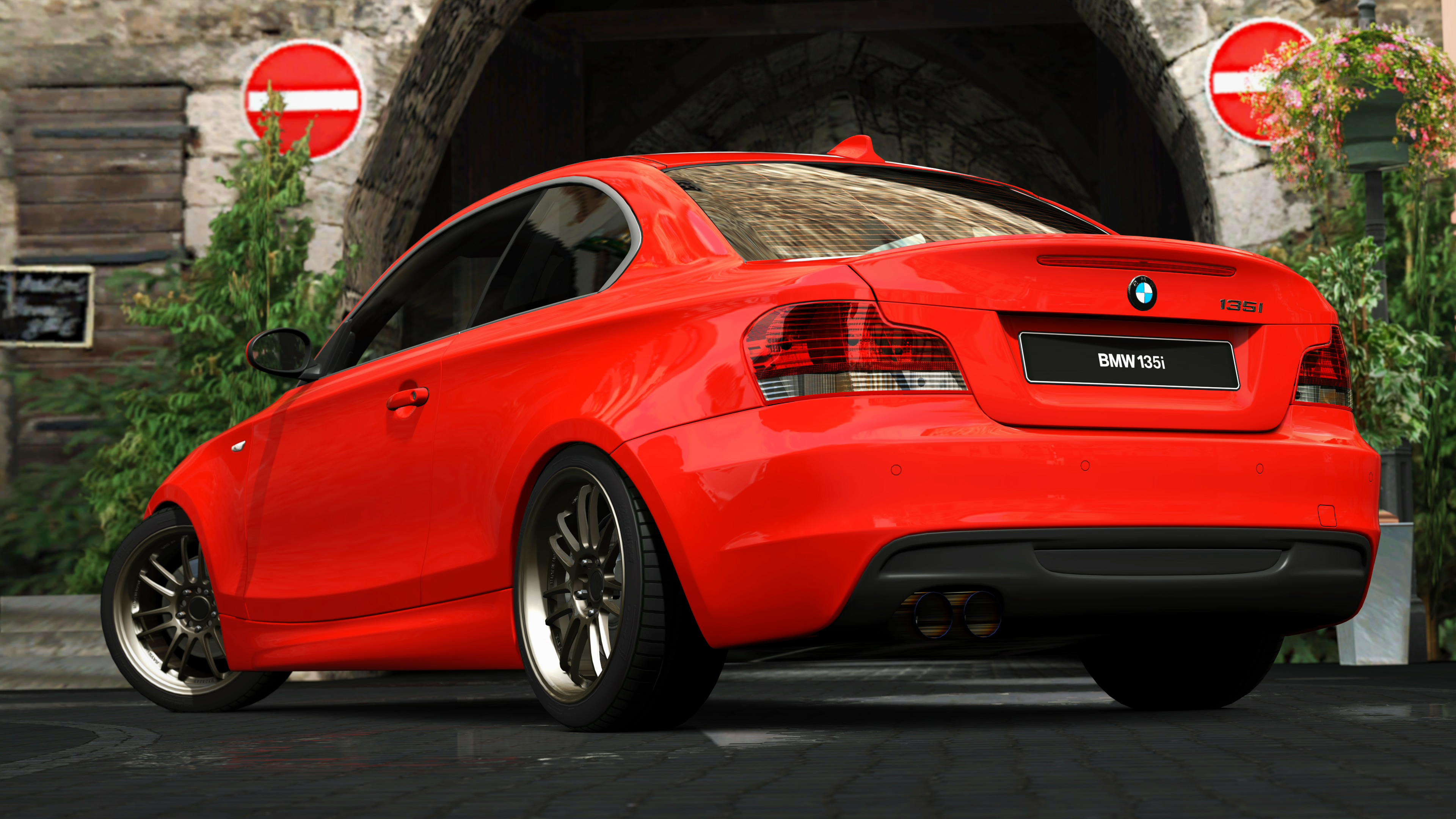 2007 bmw 135i coupe gran turismo 5 by vertualissimo on deviantart. Black Bedroom Furniture Sets. Home Design Ideas