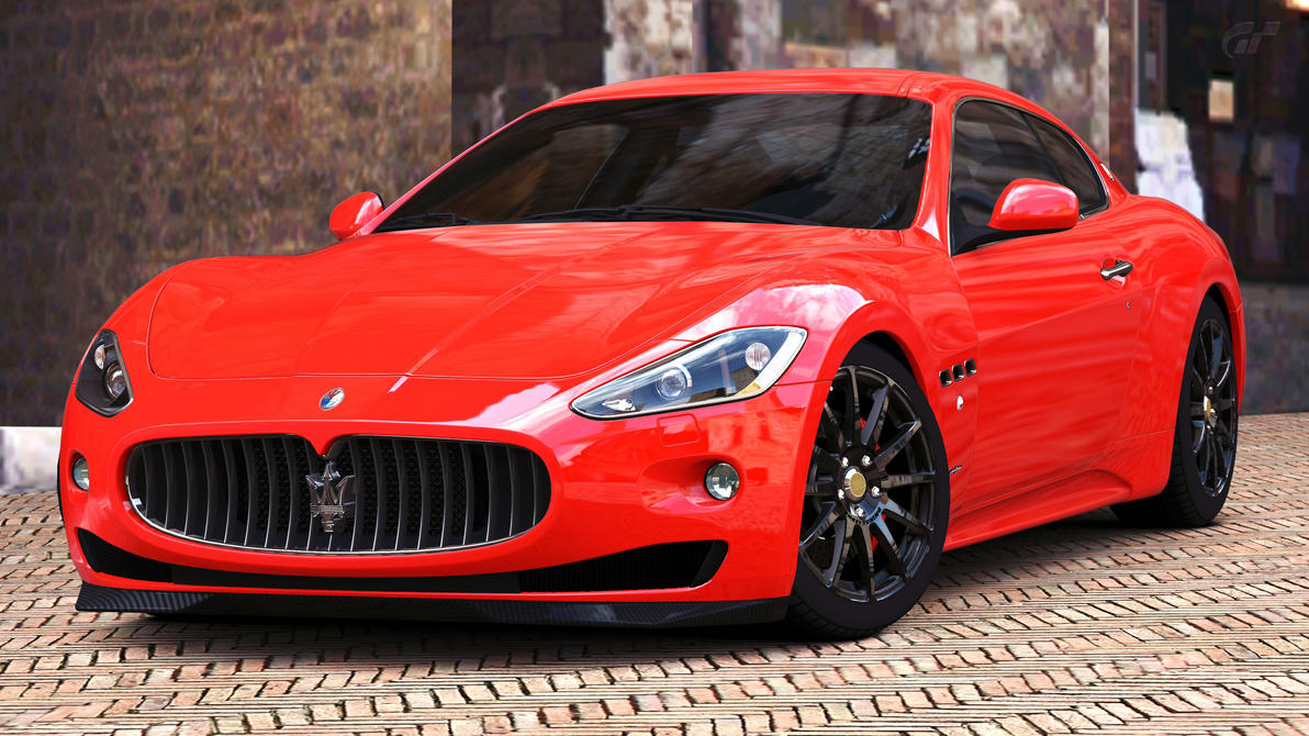 2008 maserati granturismo s gran turismo 5 by. Black Bedroom Furniture Sets. Home Design Ideas