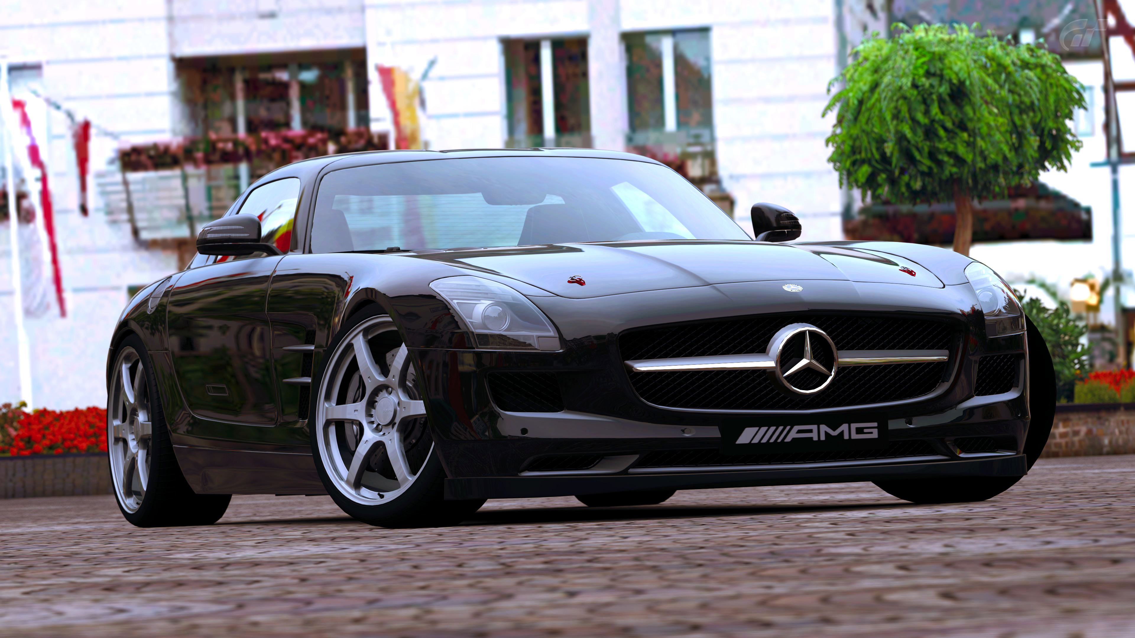 2010 mercedes benz sls amg gran turismo 5 by vertualissimo on deviantart. Black Bedroom Furniture Sets. Home Design Ideas