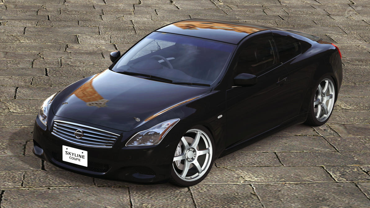 2007 Nissan Skyline 370GT Type SP Coupe (GT5) by Vertualissimo on ...