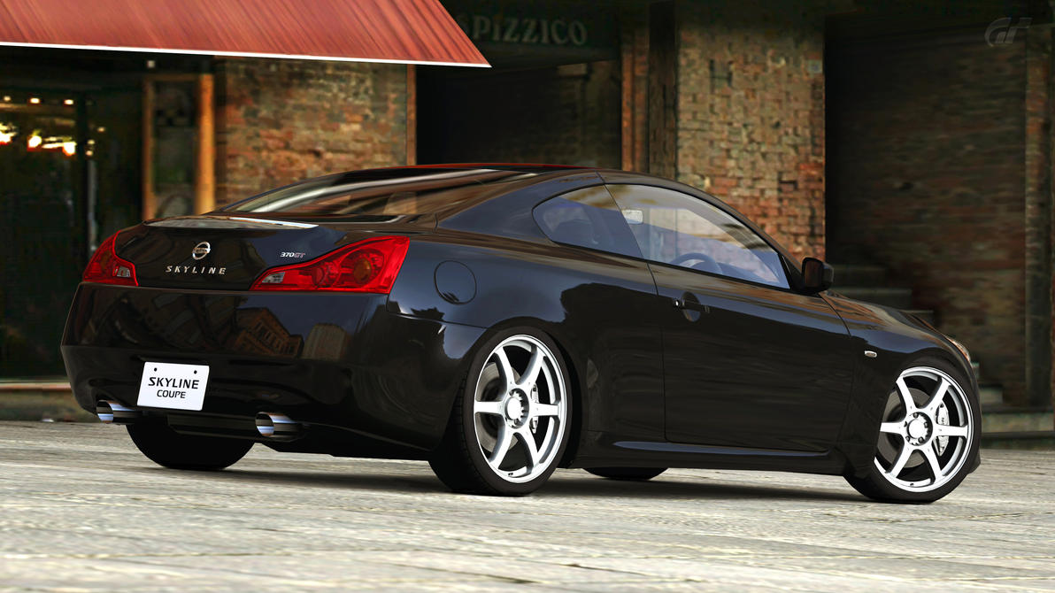 nissan skyline coupe 370