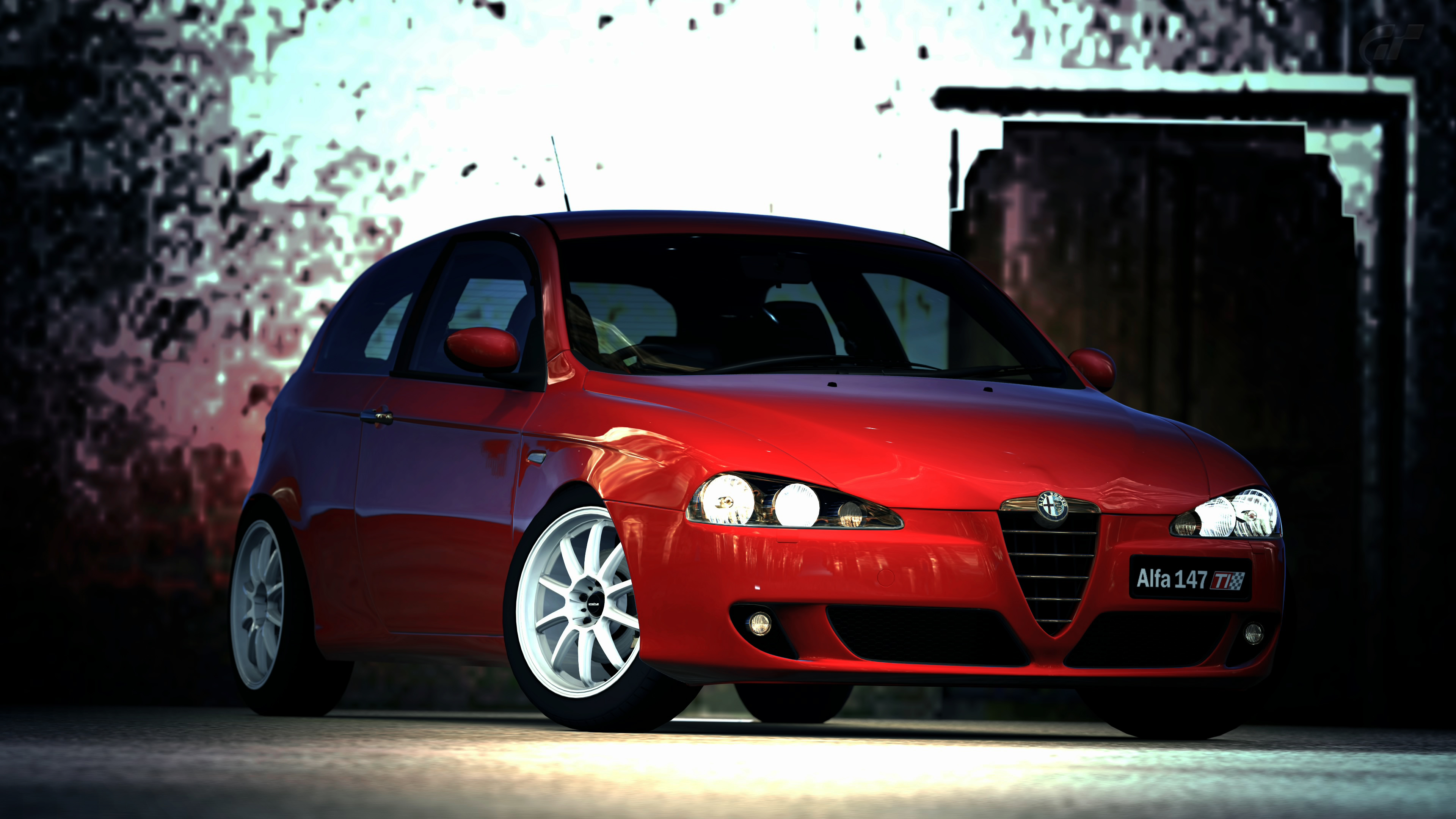2006 alfa romeo 147 ti gran turismo 5 by vertualissimo on deviantart. Black Bedroom Furniture Sets. Home Design Ideas
