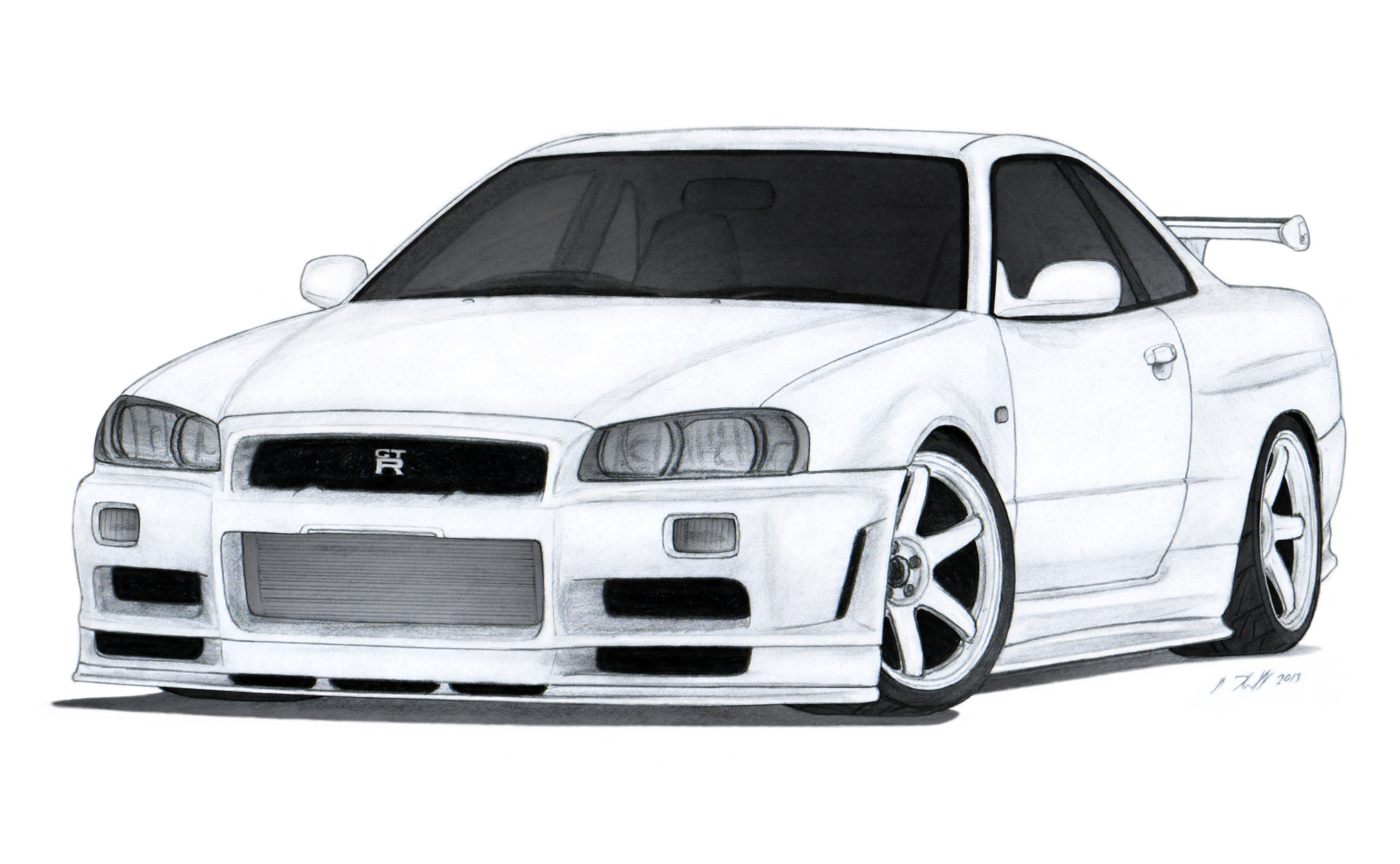 drifting skyline r34