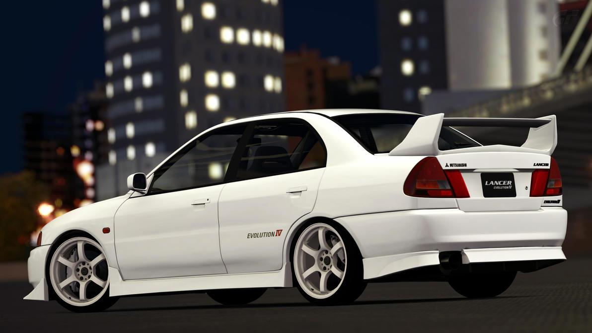 Mitsubishi Lancer Evolution IV (Gran Turismo 6) by Vertualissimo on DeviantArt