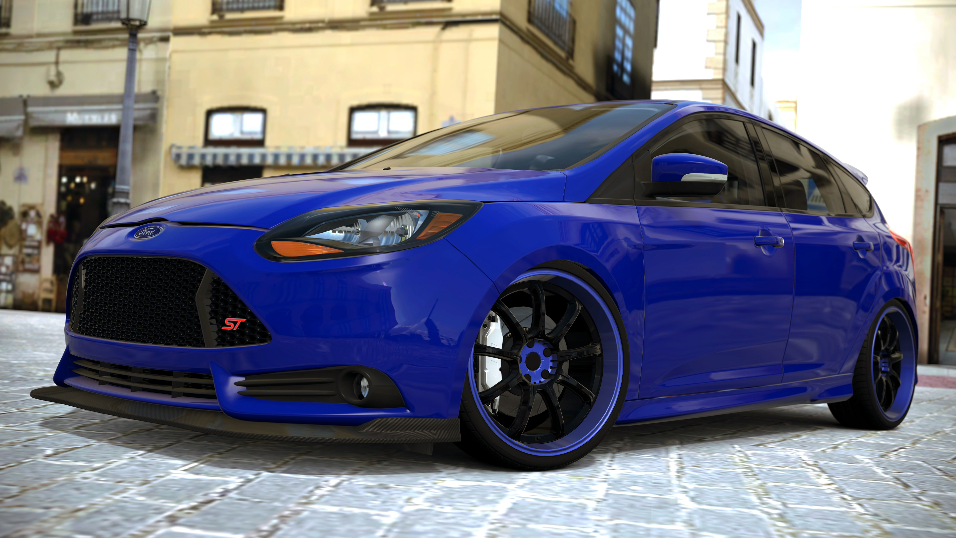ford focus st gran turismo 6 by vertualissimo on deviantart. Black Bedroom Furniture Sets. Home Design Ideas