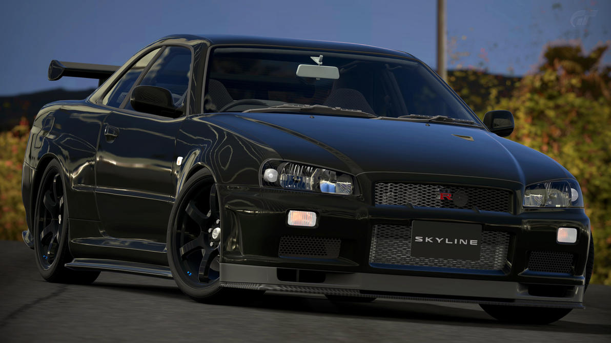 Nissan Skyline GT R R34 V Spec II Nur (GT6) By Vertualissimo ...