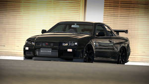 Nissan Skyline GT-R R34 V-Spec II Nur (GT6)