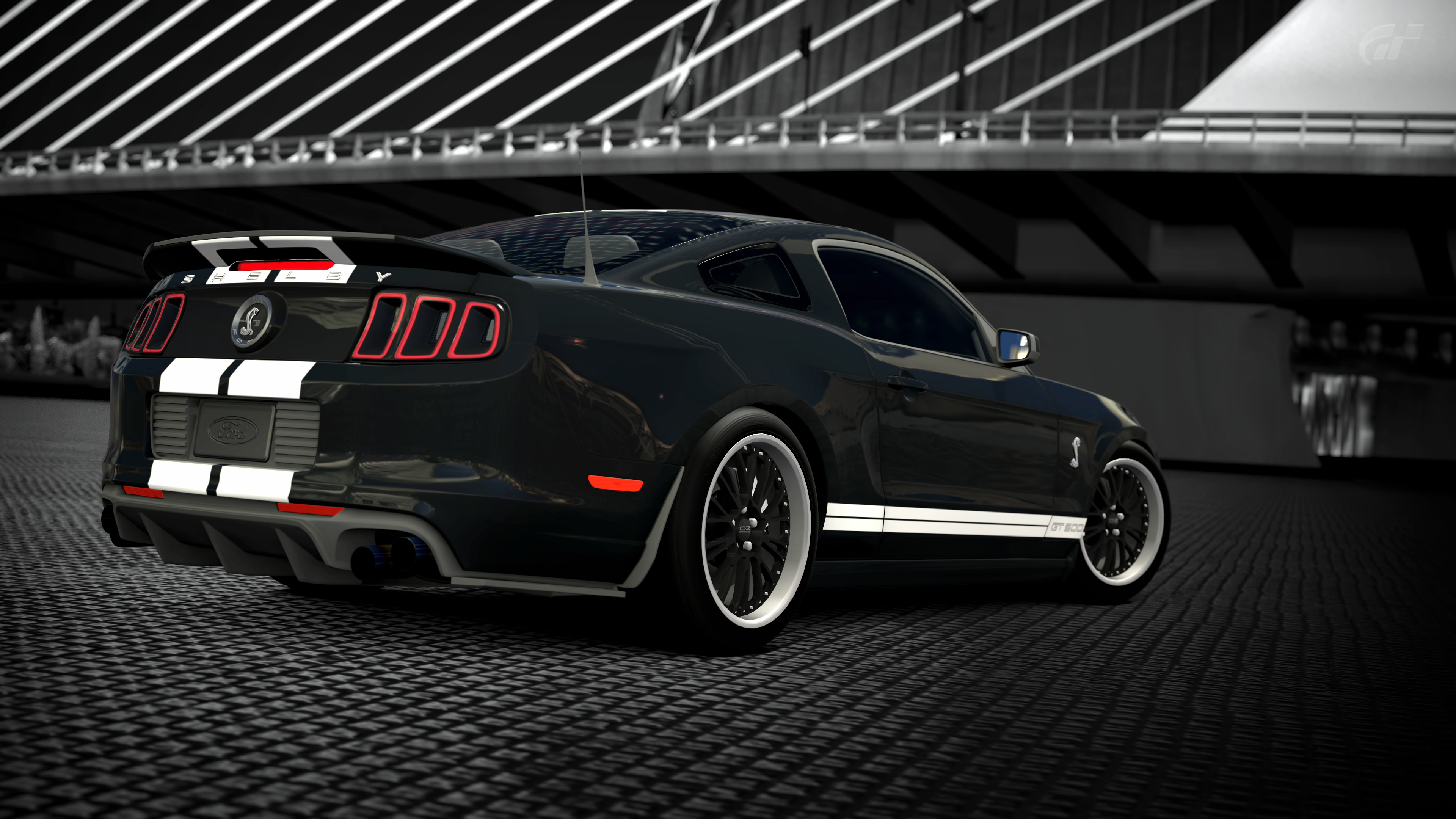2013 ford mustang shelby gt500 gran turismo 6 by vertualissimo on deviantart. Black Bedroom Furniture Sets. Home Design Ideas