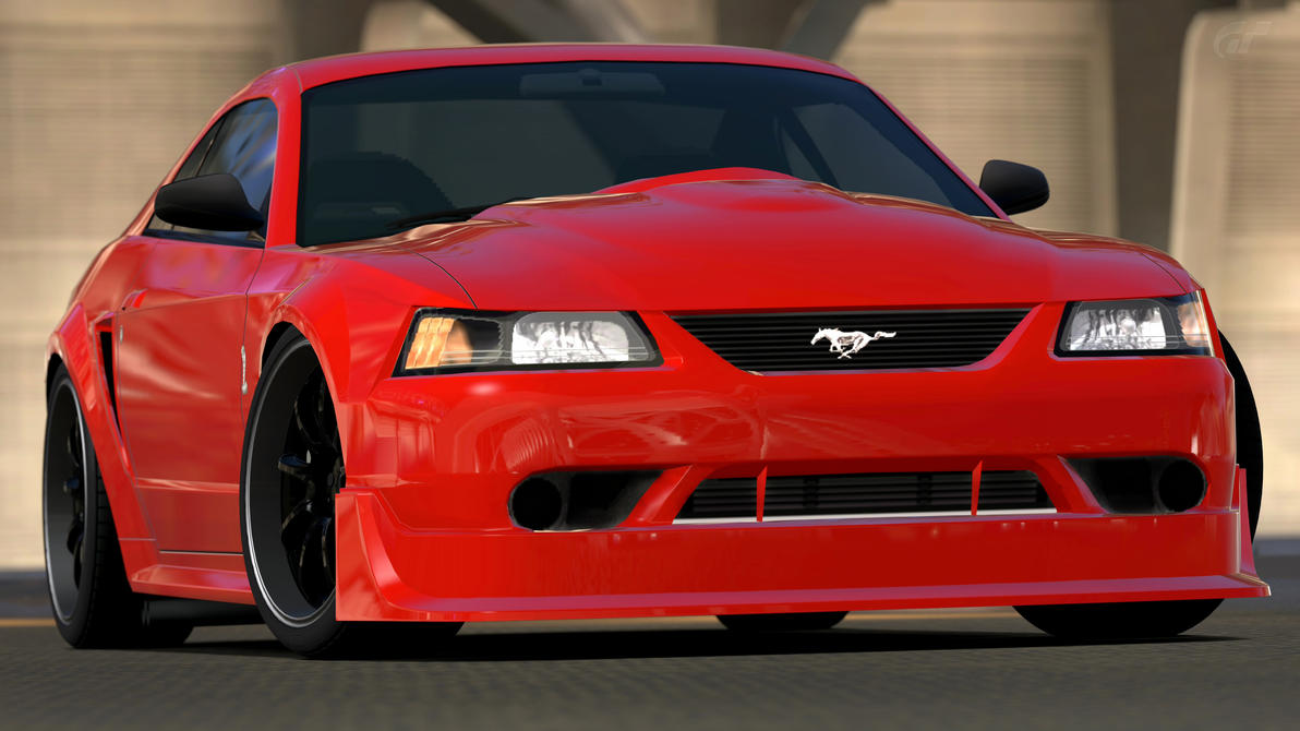 2000 ford mustang svt cobra r gran turismo 6 by vertualissimo on deviantart. Black Bedroom Furniture Sets. Home Design Ideas