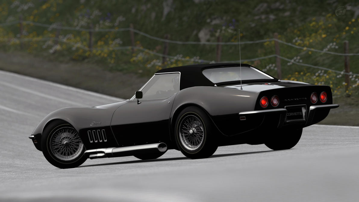 Corvette Stingray Top Speed >> 1969 Chevy Corvette Stingray C3 Convertible (GT6) by Vertualissimo on DeviantArt