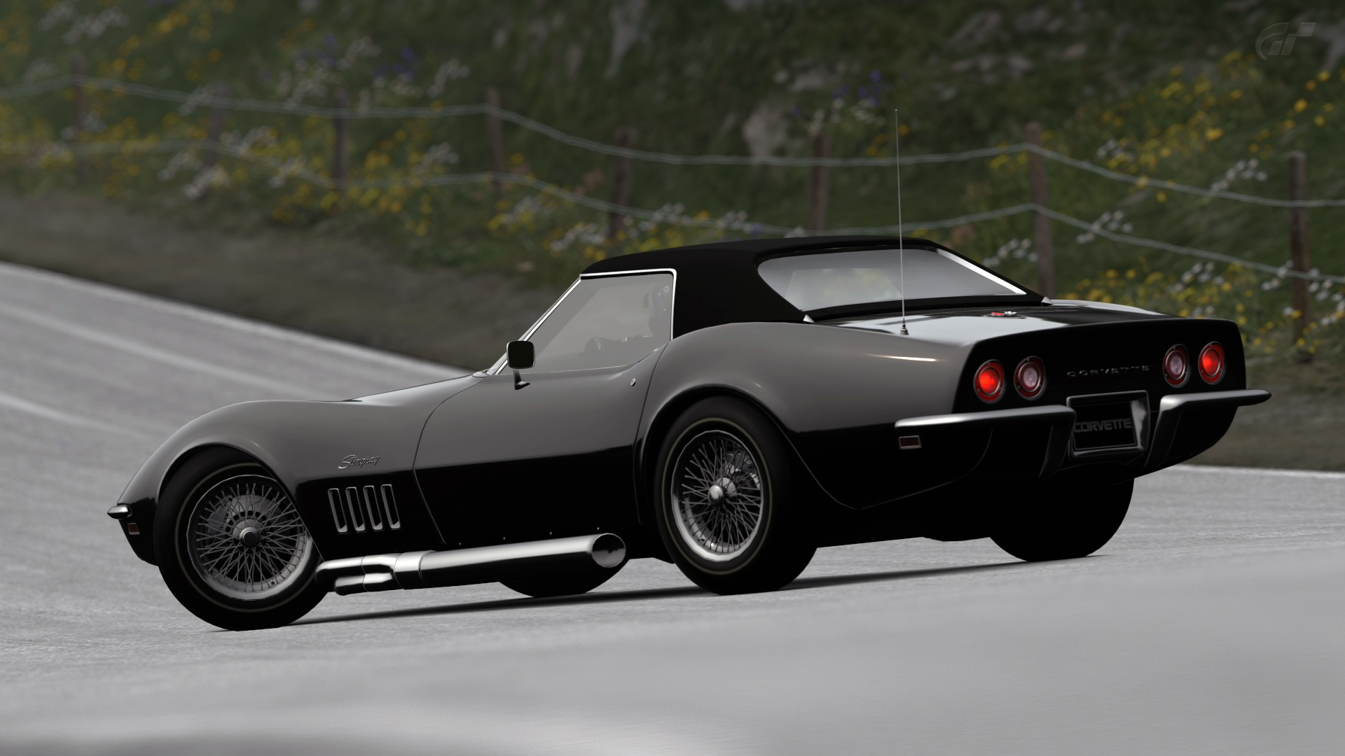 1969 chevy corvette stingray c3 convertible gt6 by vertualissimo on deviantart. Black Bedroom Furniture Sets. Home Design Ideas