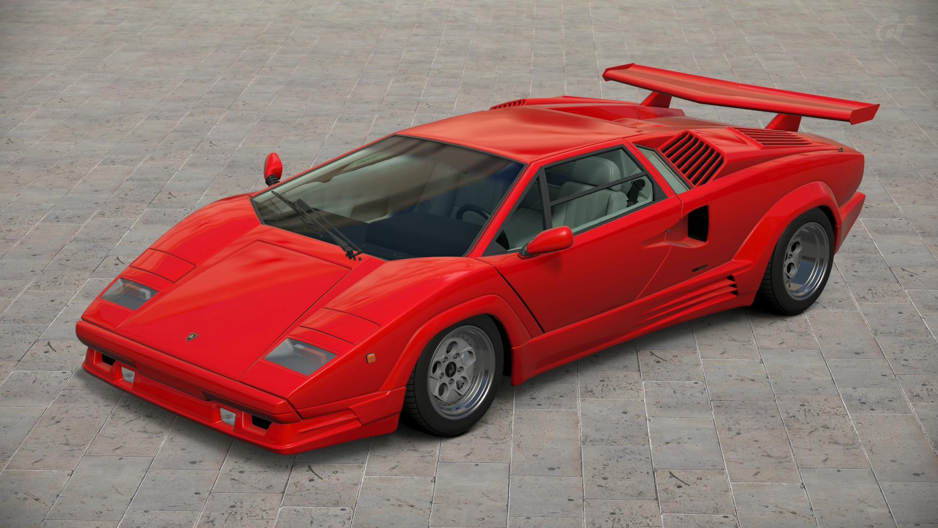 lamborghini_countach_25th_anniversary__gt6__by_vertualissimo-d774o3x Elegant Lamborghini Countach 25th Anniversary Specs Cars Trend