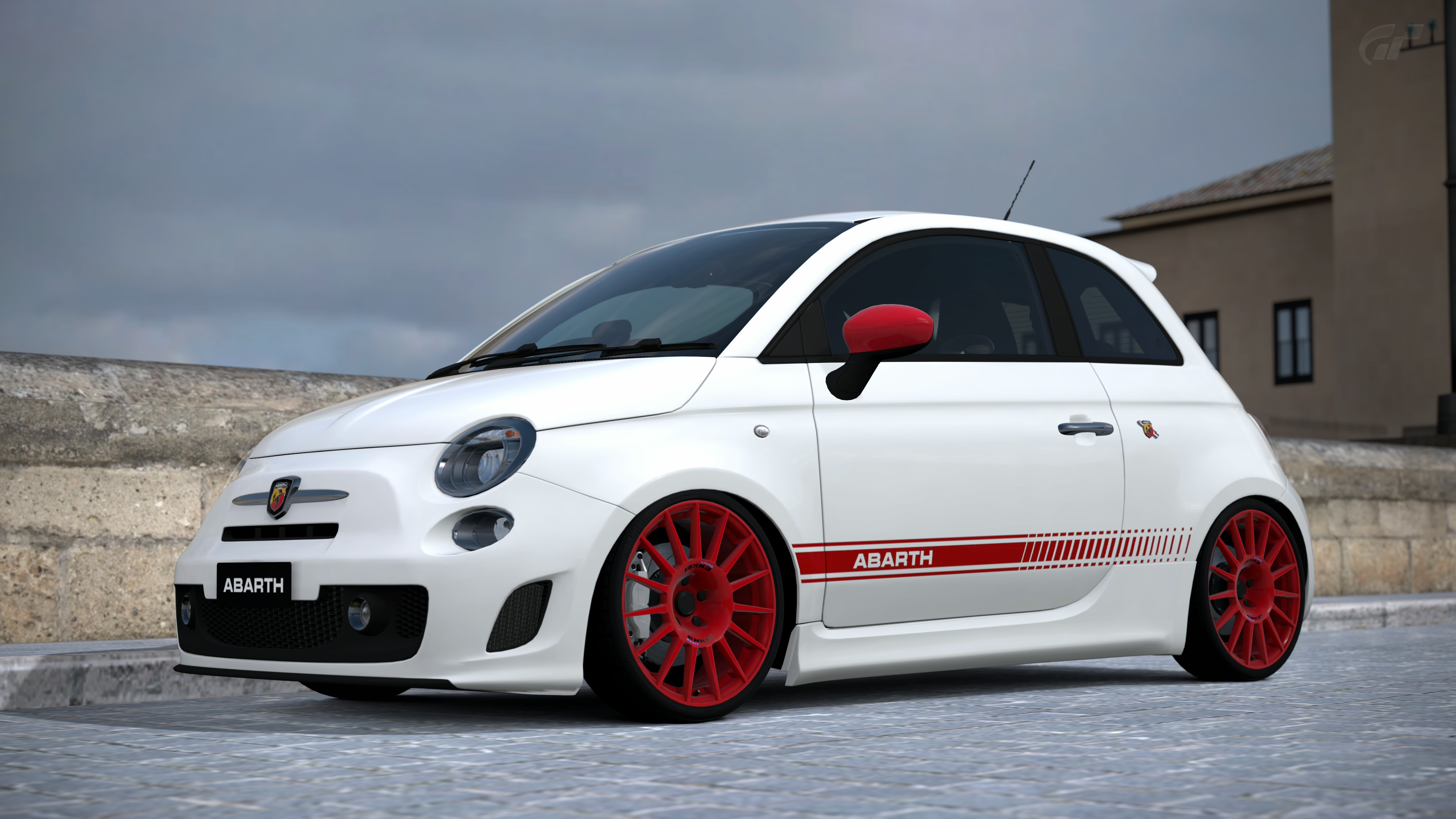 fiat 500 abarth gran turismo 6 by vertualissimo on deviantart. Black Bedroom Furniture Sets. Home Design Ideas