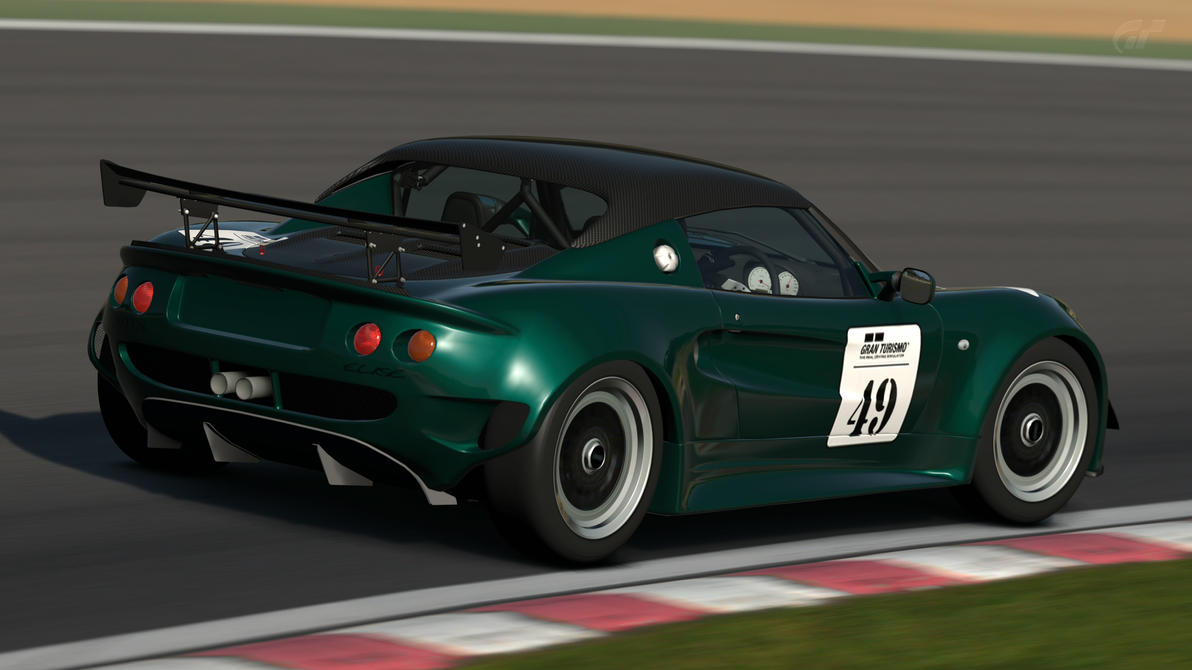 Lotus Elise Race Car (Gran Turismo 6) by Vertualissimo on DeviantArt