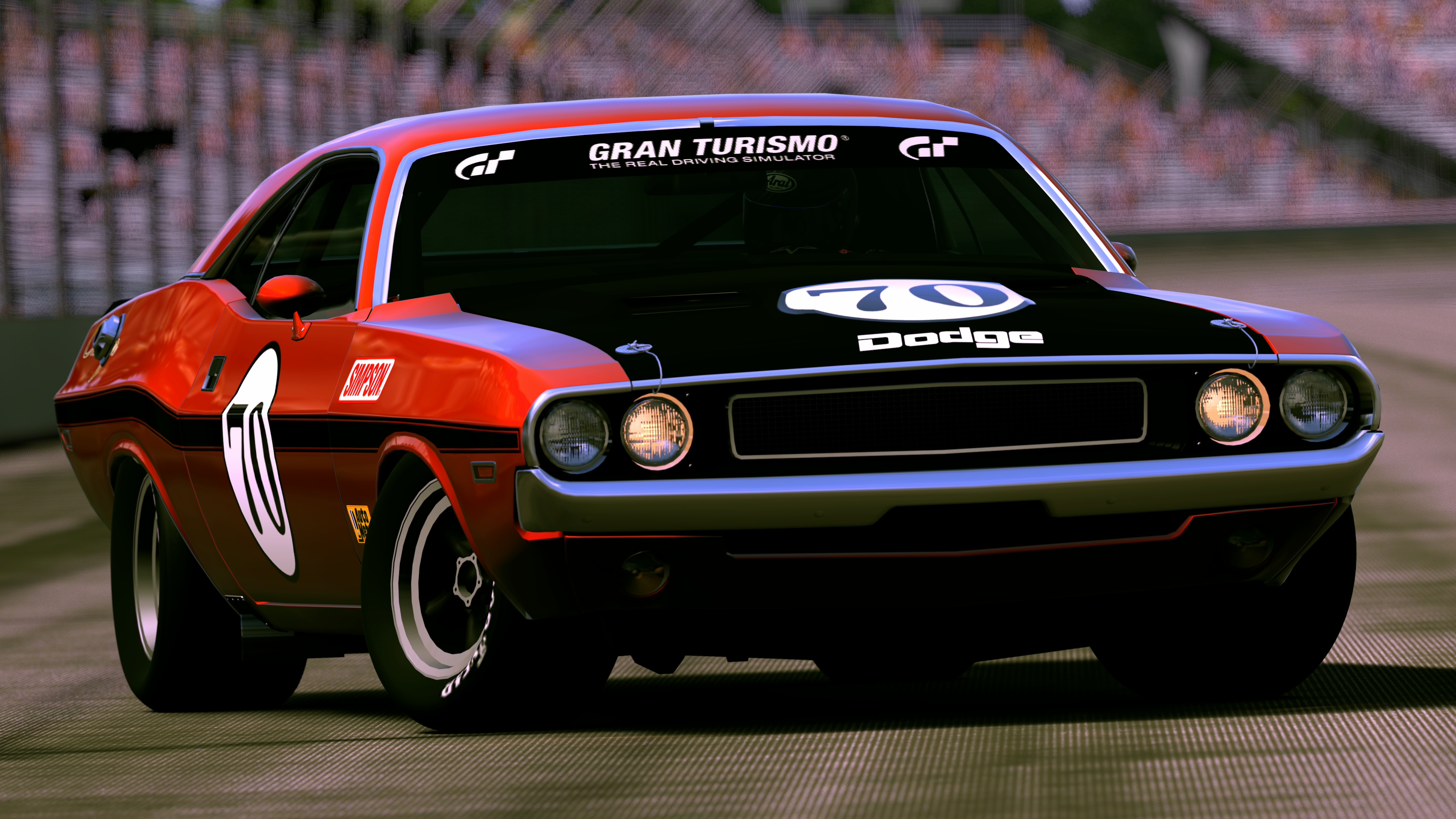 1970 Dodge Challenger R T Race Car By Vertualissimo On