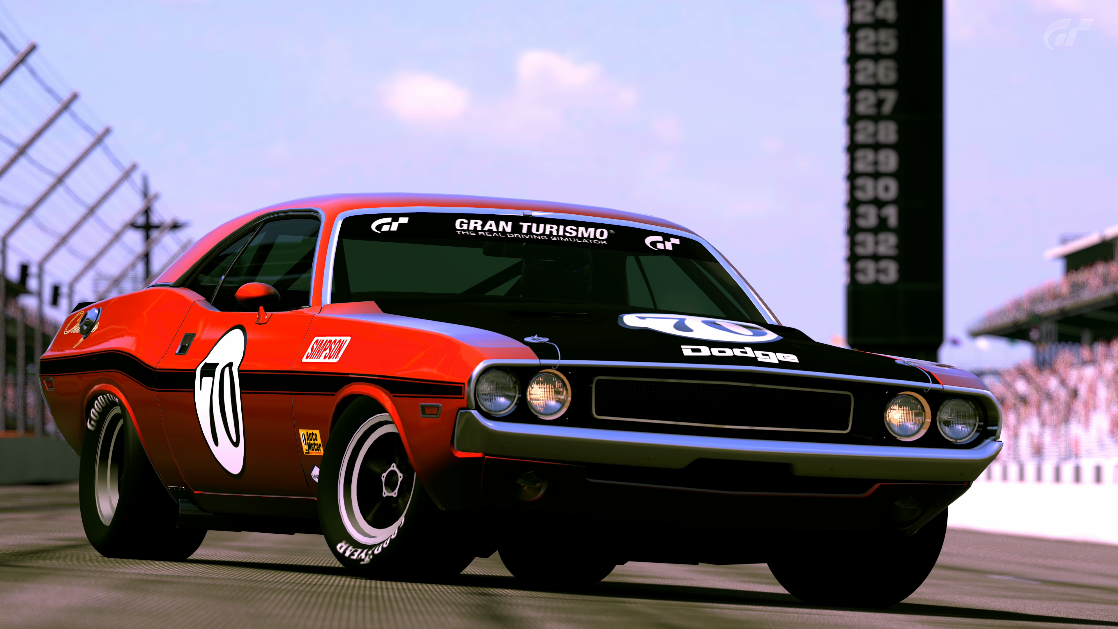 1970 dodge challenger r t race car by vertualissimo