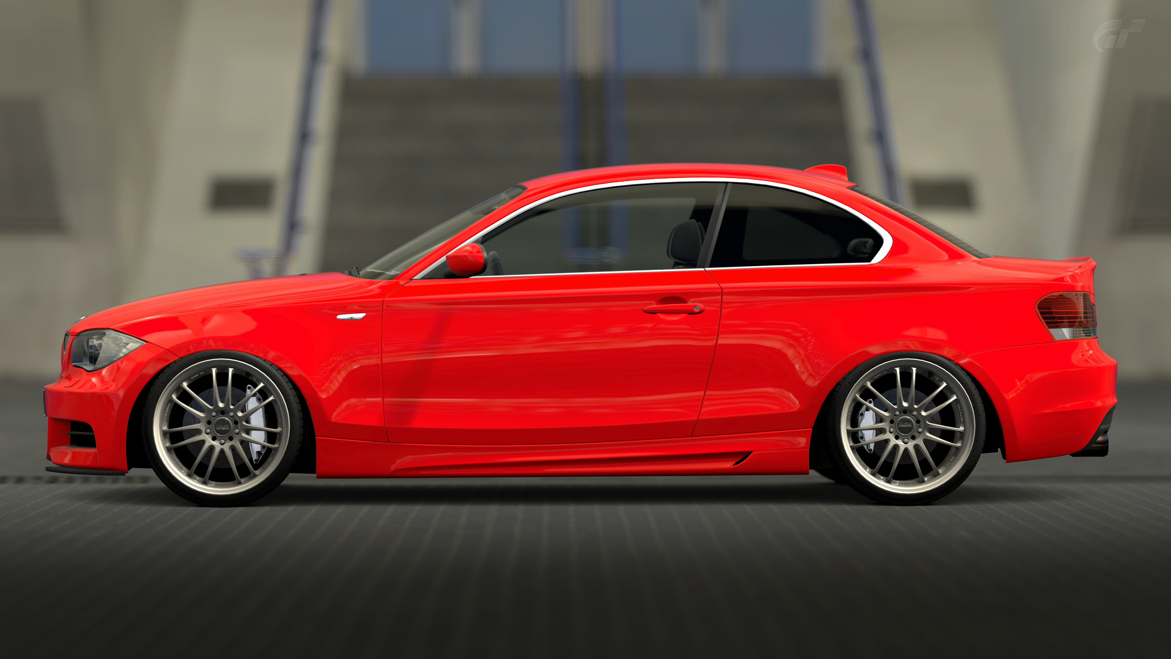 bmw 135i coupe gran turismo 6 by vertualissimo on deviantart. Black Bedroom Furniture Sets. Home Design Ideas