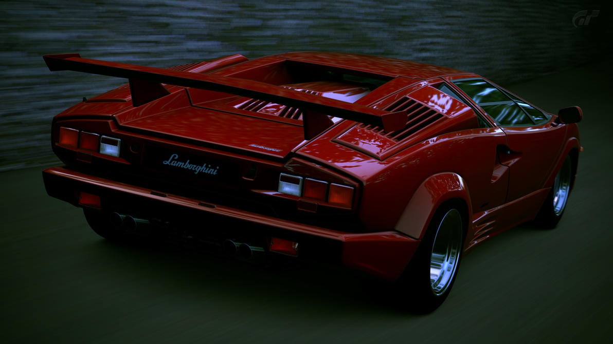 lamborghini countach 25th anniversary gt6 by vertualissimo on deviantart. Black Bedroom Furniture Sets. Home Design Ideas