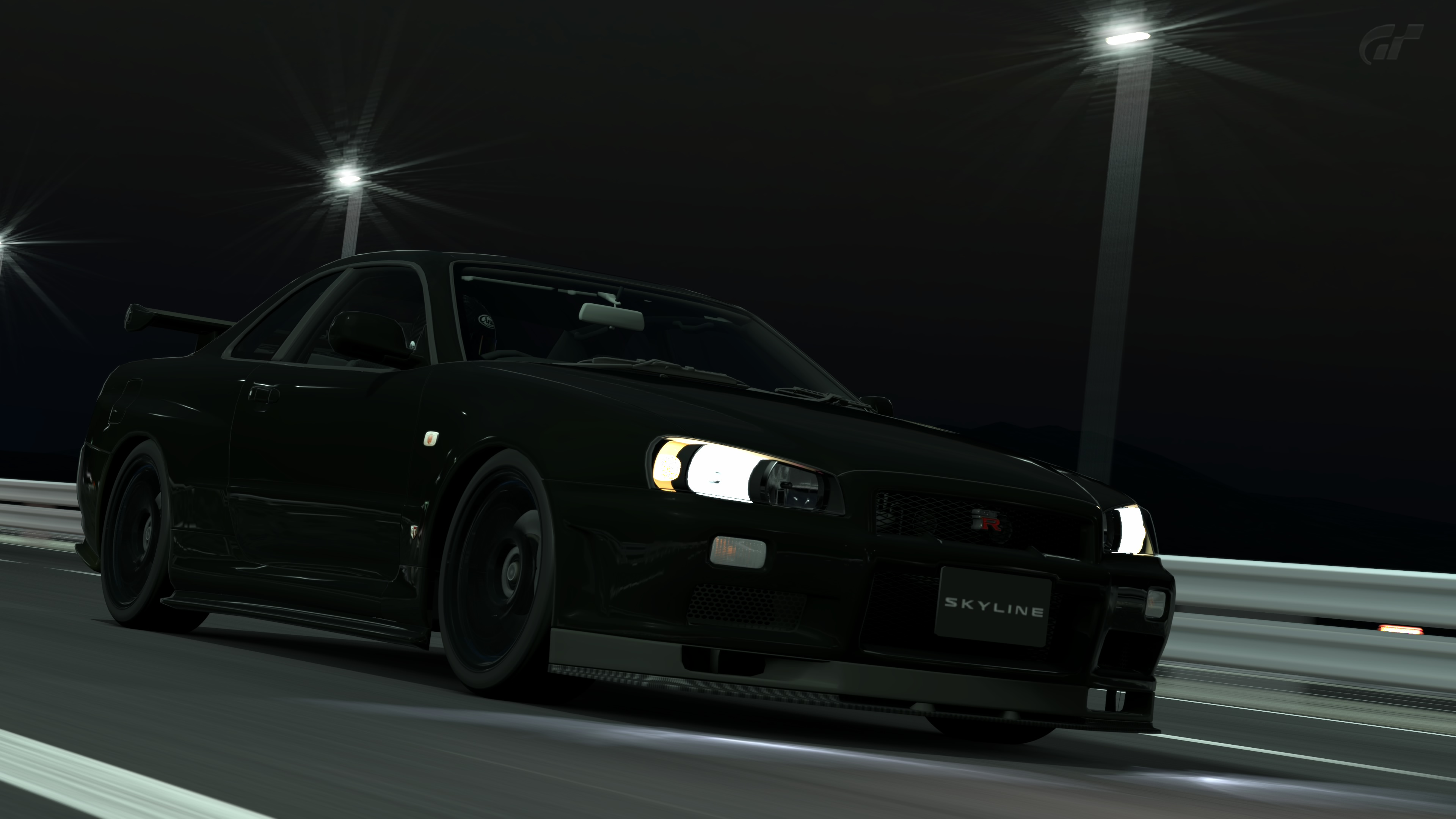 Nissan Skyline GT-R R34 V-Spec II Nur (GT6) by Vertualissimo