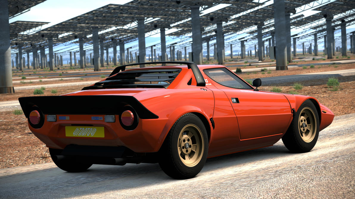 1973 Lancia Stratos HF Stradale (Gran Turismo 6) by Vertualissimo on ...
