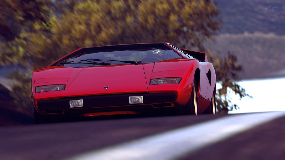 1974 Lamborghini Countach LP400 (Gran Turismo 6) by Vertualissimo on ...
