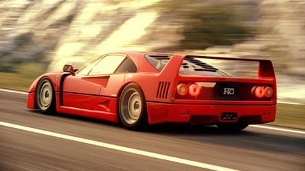 Ferrari F40 (Gran Turismo 6) by Vertualissimo