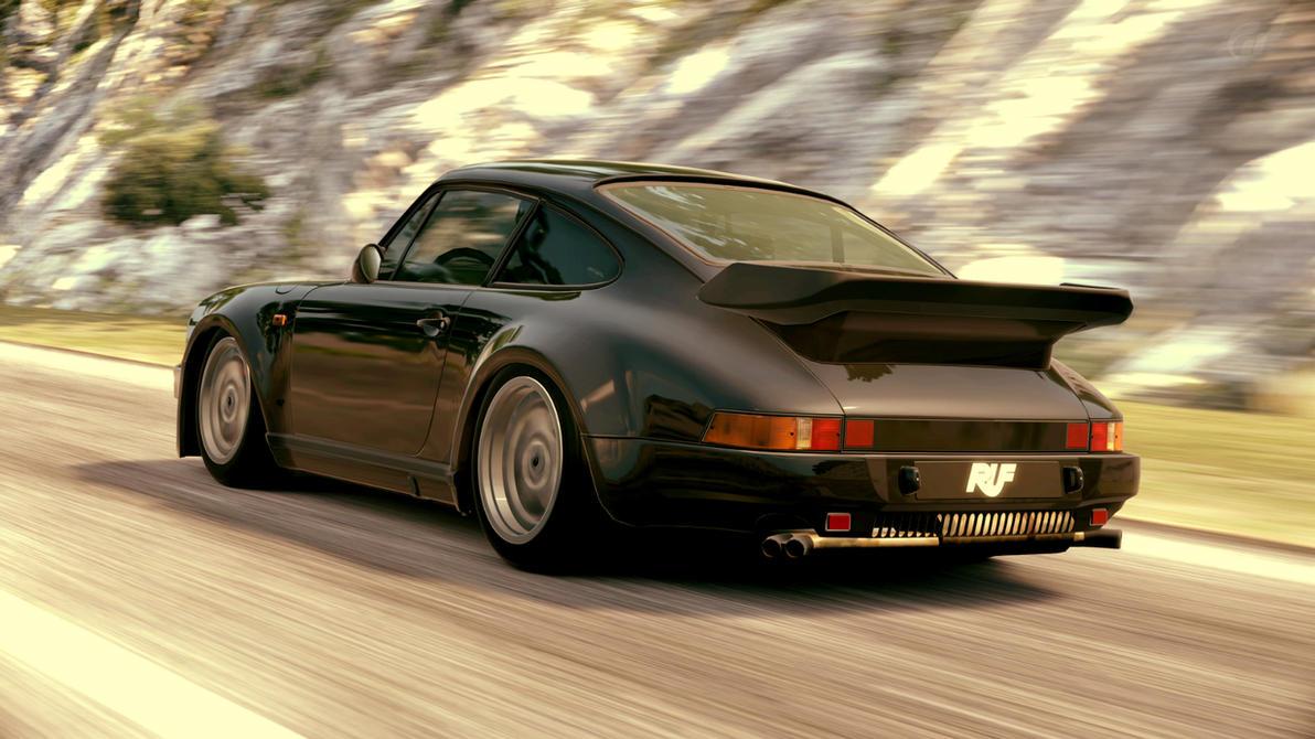 1986 Ruf Btr Porsche 911 Turbo By Vertualissimo On