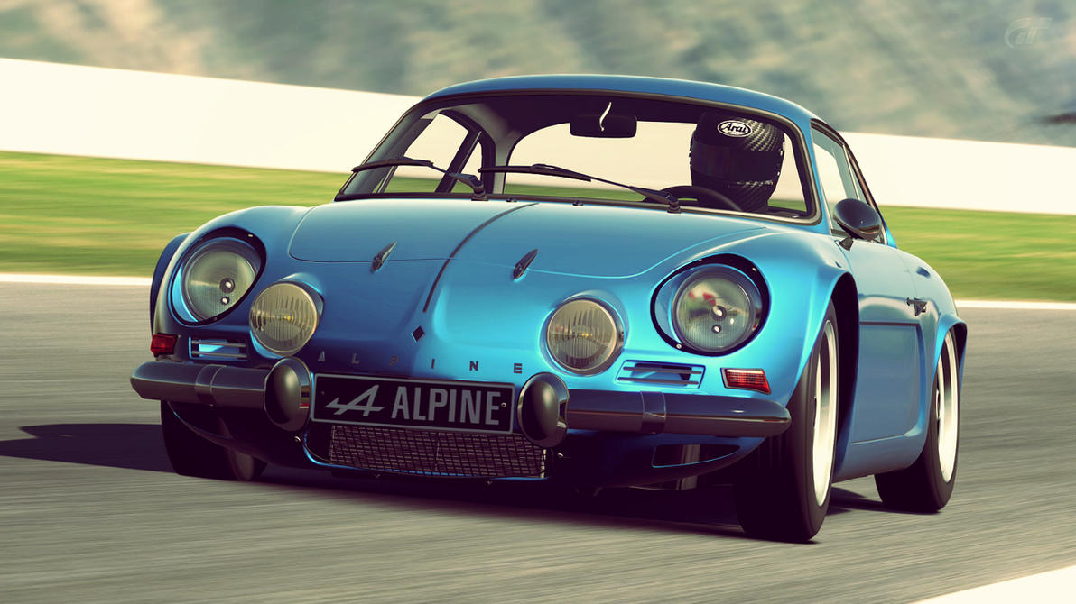 1972 alpine a110 1600s gran turismo 6 by vertualissimo on deviantart. Black Bedroom Furniture Sets. Home Design Ideas