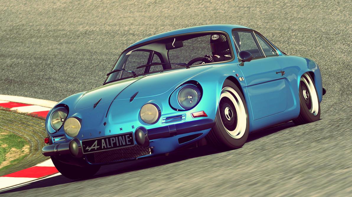 1972 Alpine A110 1600S (Gran Turismo 6) by Vertualissimo