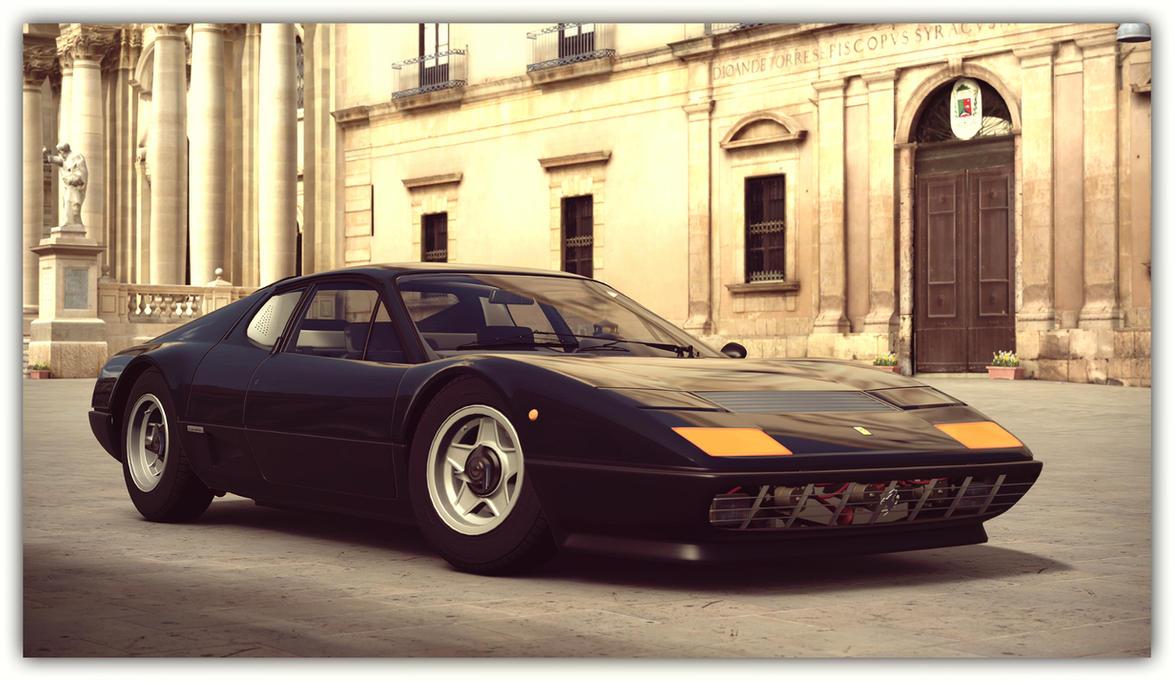 1976 Ferrari 512 BB (Gran Turismo 6) by Vertualissimo