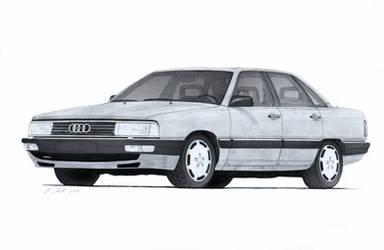 Audi 200 Turbo Quattro (44Q) Drawing