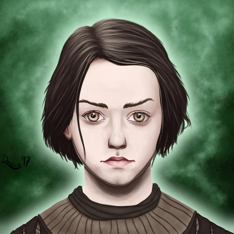 Arya Stark by Daehim
