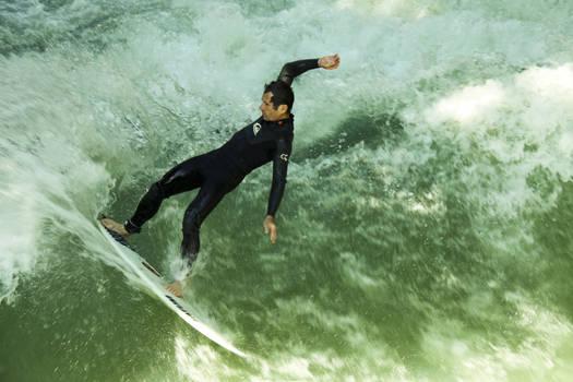Isar surfing
