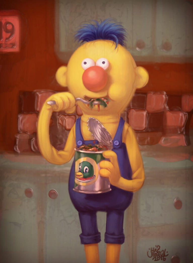 Yellow Guy by luihzUmreal