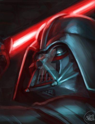 Darth Vader by luihzUmreal