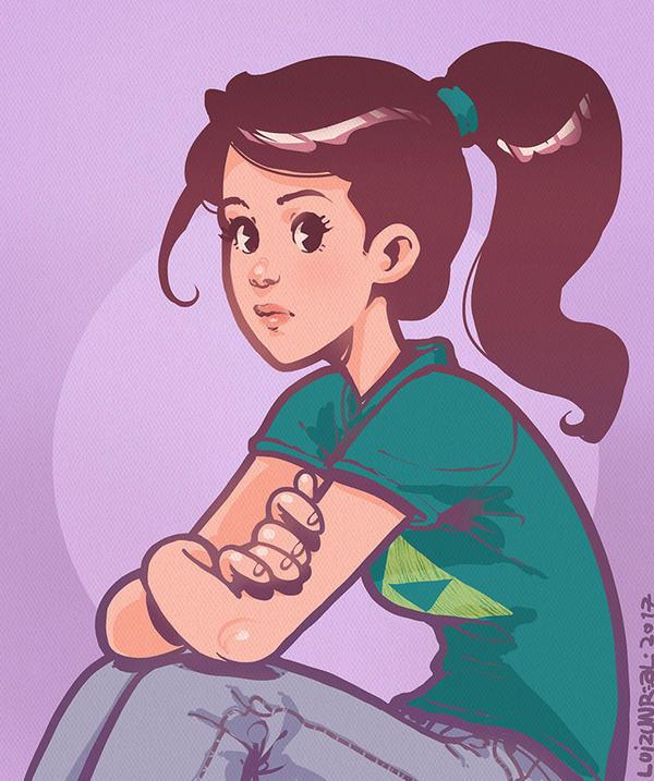 Girl by luihzUmreal